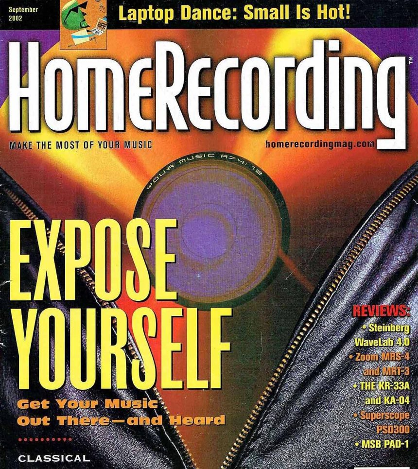 "Arty Skye's article was published in ""Home Recording Magazine"""
