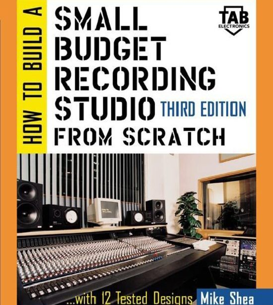 "SkyeLab Sound Studios is featured on the cover of ""How to Build a Recording Studio from Scratch"""