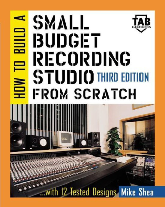 """SkyeLab Sound Studios is featured on the cover of """"How to Build a Recording Studio from Scratch"""""""
